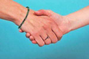 Le prestataire et le client s'engagent - © Heliosphile - Fotolia.com