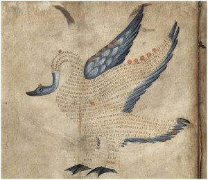 Marcus Tullius Cicero, parchemin (IXe siècle), British Library
