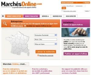 Marchés Online, la grande adresse des appels d'offres