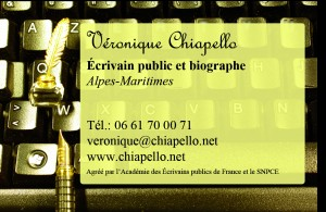 Véronique Chiapello CV