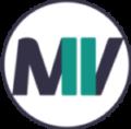 Logo rond blanc Marie Vicat